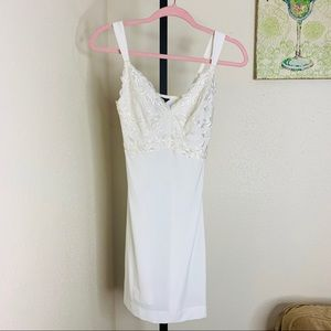 Soma intimates ivory stretch lace nightie xsmall